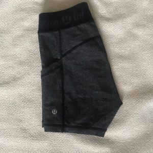 lululemon athletica Shorts - Lululemon Printed Bike Shorts